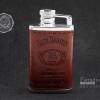 ไฟแช็ครูปทรงกระป่องเหล้า Jack Daniel's Whisky หุ้มหนัง แบบเติมแก๊ส (สวยโฮก)