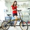 จักรยานพับได้ เฟรมเหล็ก SEEFAR รุ่น SPEED 7สปีด ชิมาโน่ 2015