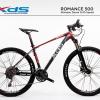 จักรยานเสือภูเขาเฟรมอลูมิเนียม XDS ROMANCE 500 ,30สปีด Deore เฟรมเบาอลู X6