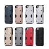 เคส iPhone 6 Plus / 6s Plus เคสกันกระแทกแยกประกอบ 2 ชิ้น ด้านในเป็น TPU สีดำ ด้านนอกพลาสติกเคลือบเงาโลหะเมทัลลิค ราคาถูก