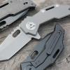 Quartermaster Templeton Peck Flipper Knife Ti (Stonewash) QTR-3Z