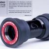 กระโหลก TOKEN BB841PR สำหรับเฟรม Ø41x86.5/89.5/92mm (SRAM,GXP)