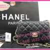 "Chanel Classic Mini Lamp Leather Gold Hardware 7"" **เกรดท๊อปมิลเลอร์** (Hi-End)"
