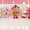 เซ็ตตุ๊กตาโมเดลอันปัน anpanman and friends collections 5 ชิ้น