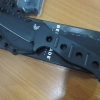 Benchmade 375 Adamas, Black Plain Edge, Black Sheath, BM375BK