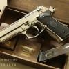 ปืน BBgun GUN HEAVEN Berretta 92FS Silver 6 mm. AirSoftGun