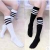 [พร้อมส่ง] HS5431 ถุงเท้านักเรียนญี่ปุ่น แบบครึ่งขา แบบลายคาด Japan High School Sock