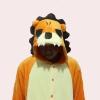 ชุดแฟนซีสัตว์สิงห์โต+รองเท้าการ์ตูน