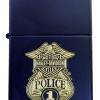 """ไฟแช็ค Zippo แท้ ฮาร์เล่ โปลิส """"Zippo Harley Davidson Police Navy Matte"""" #Zippo 239 แท้นำเข้า 100%"""