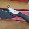 """Spyderco FB01 Bill Moran 3-7/8"""" VG10 Steel Bowie Style Blade"""