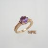 แหวนอเมทิสต์ (Amethyst Silver Ring)