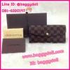 Louis Vuitton Damier Canvas Wallet กระเป๋าสตางค์หลุยส์ ใบยาวสามพับ **เกรดAAA+**