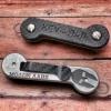 Key Bar Carbon Fiber/Engraved Aluminum (Molon Labe/Spartan Helmet)