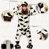 ชุดนอนสัตว์วัว+รองเท้า