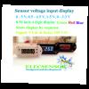 Voltage sensor display