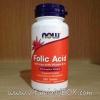 Now Foods, Folic Acid, 800 mcg, 250 Tablets