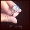 แหวนเงินคาสิโดนี(Silver ring chacedony)