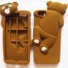 เคสหมี 3D ปีนฝาหลัง ไอโฟน 6/6s 4.7 นิ้ว