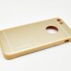 เคส Motomo อลูมิเนียมขอบนิ่ม ไอโฟน 6/6s 4.7 นิ้ว-สีทอง