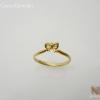 แหวนโบว์ชุบทอง (Silver ribbin ring paint gold)