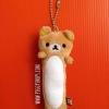 ตุ๊กตาพวงกุญแจหมีคุมะ / รีแลคคุมะ สำหรับแขวน & เช็ดทำความสะอาดหน้าจอแท็ปเลท มือถือ