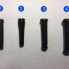 ยางกันสายหัก, ยางออกสาย มีทั้งหมด 4 ขนาด เบอร์ 1, 2, 3, 4 (เลือกขนาดสินค้าด้านล่าง)