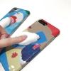 Case iPhone 7 (4.7 นิ้ว) พลาสติก TPU สกรียลายการ์ตูน พร้อมการ์ตูน 3 มิตินุ่มนิ่มสุดน่ารัก ราคาถูก
