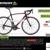 จักรยานเสือหมอบ MERIDA SCULTURA 400 ,22สปีด 105 เต็มกรุ๊ป 2016