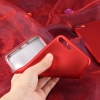 เคสนิ่มสีแดงพิเศษเนื้อกำมะหยี่ Vivo V5(ใช้ภาพรุ่นอื่นแทน)