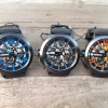 :: INFANTRY IN-046 Big Dial..Red/Black/Orange/White/Blue...ไขลาน โชว์เครื่อง-หน้า/หลัง **Top items..