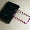 Case Samsung Note 3 นิ่มใสขอบชมพูเข้ม