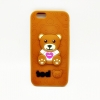เคสซิลิโคนหมี 3D ไอโฟน 6plus/6s plus5.5 นิ้ว