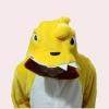 ชุดแฟนซีสัตว์ไดโนเสาร์เหลือง+รองเท้าการ์ตูน