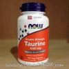 Now Foods, Taurine, Double Strength, 1000 mg, 100 Capsules