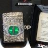 """ไฟแช็ค Zippo 28807 แท้ ตามังกร แกะสลัก """"Zippo Armor, Dragon Eye Deep Carved High Polish"""" แท้นำเข้า 100%"""