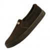 รองเท้าหุ้มส้นบาจาลูกฟูกสีน้ำตาล