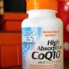 Doctor's Best, High Absorption CoQ10, with BioPerine, 100 mg, 120 Softgels