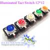 Illuminated Tact Switch 12*12 Colorful LED