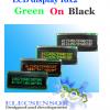 LCD 16x2 Green on Black