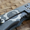 "RHK 4.0"" Wharncliffe Working Finished M390 GearHead GreyG-10 Number18/25"
