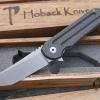 Hoback Kwaiback Folder, Titanium/Carbon Fiber, CPM-20CV Steel