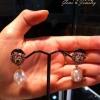 ต่างหูแฟนซีและมุข(Earrings fancy gems&pearl)