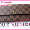 Louis Vuitton Damier Canvas Sarah Wallet กระเป๋าสตางค์หลุยส์ ใบยาวสองพับ **เกรดAAA+**