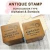 LOWER Case Alphabet Stamp Set