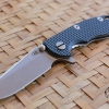 "RHK 3.0"" XM-18 Spearpoint Stonewashed Battle Bronze Blue/Black G-10"