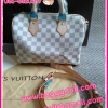 Louis Vuitton Azur Damier Canvas Speedy Bandoulire **เกรดท๊อปมิลเลอร์** (Hi-End)