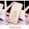 เคส oppo r7 / r7 Lite ซิลิโคนแบบเคสนิ่มเงางามสวยหรู พร้อมแหวนสำหรับตั้งมือถือ ราคาถูก