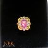 แหวนทับทิมพม่า (Burma ruby gold ring)