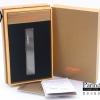ไฟแช็คไฟฟ้า USB Jobon Smoking set สี ดำ เรียบ หรู