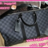 Louis Vuitton Damier Graphite Canvas Keepall 45,50,55 **เกรดท๊อปมิลเลอร์** (Hi-End)